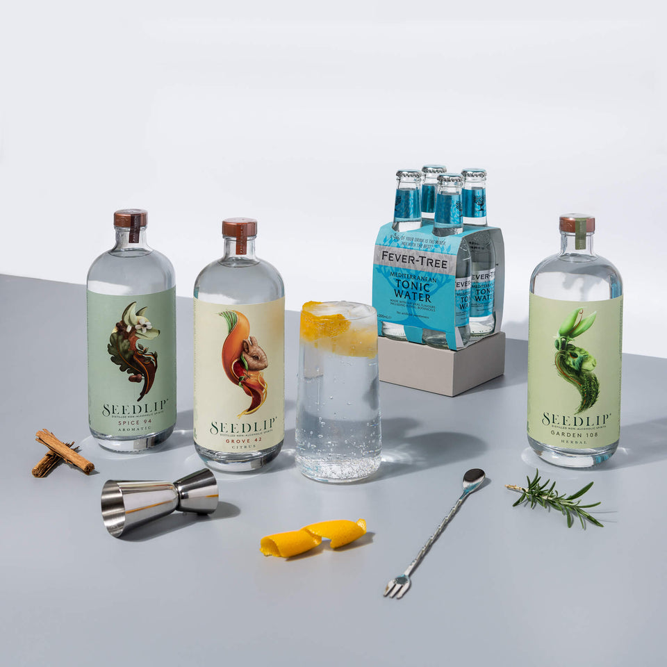Seedlip Non-Alcoholic Drinks Range | Craftzero