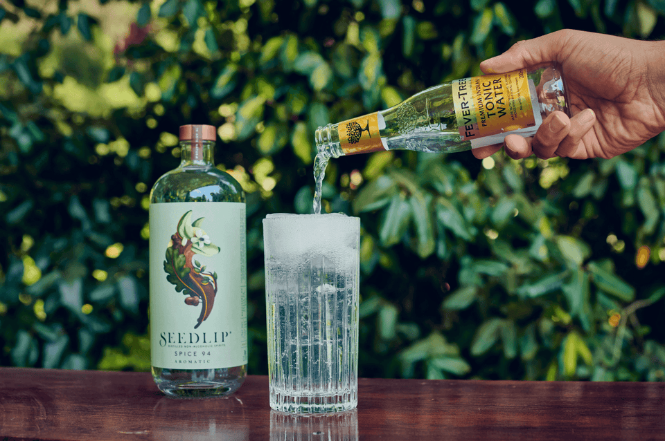 Seedlip and Fever-Tree Tonic | Craftzero
