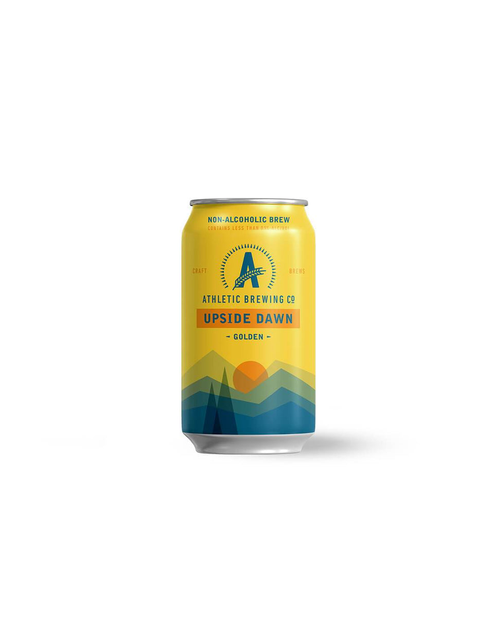 Athletic Brewing Co Upside Dawn Golden Ale 355mL | Craftzero