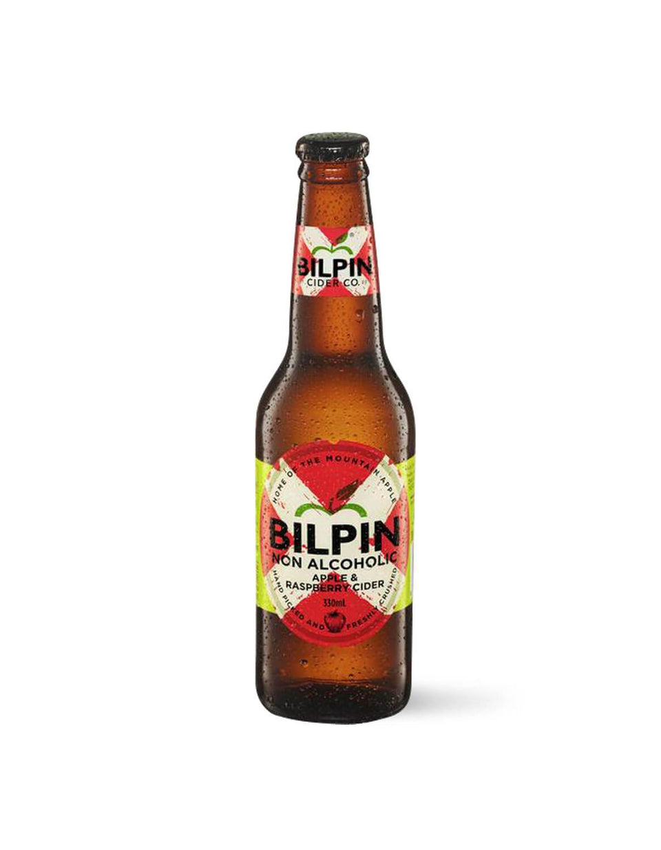 Bilpin Non-Alcoholic Apple Raspberry Cider 330mL | Craftzero