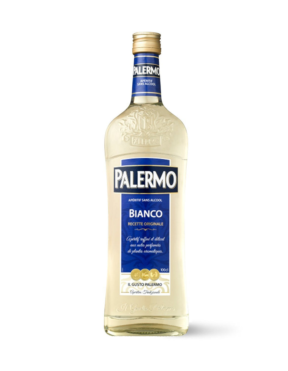 Palermo Bianco Non-Alcoholic Aperitif 1L - Craftzero | Non-Alcoholic Beer, Wine and Spirits