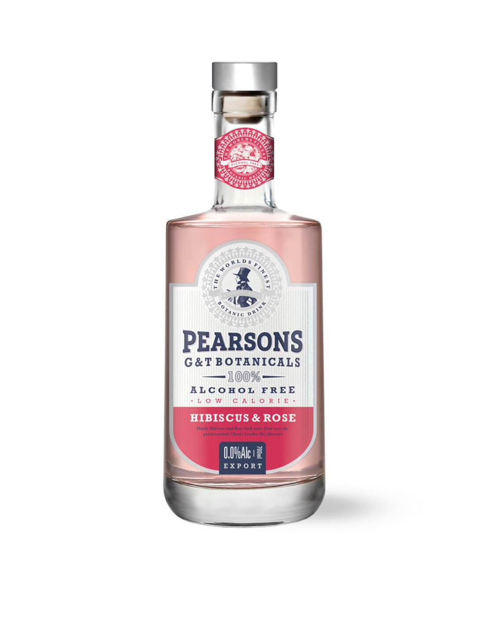 Pearsons G&T Botanicals Alcohol-Free Hibiscus & Rose 700mL