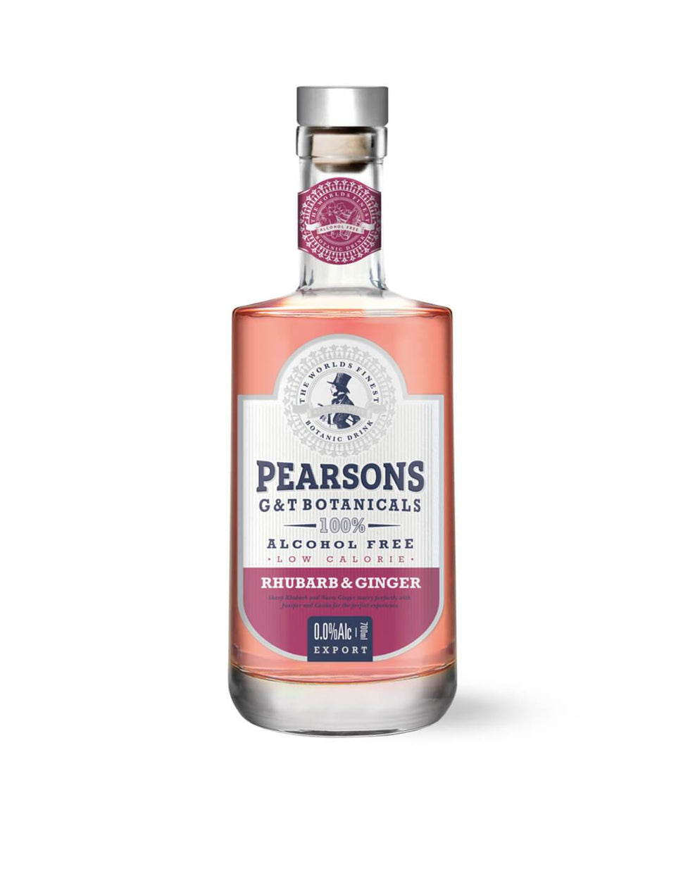Pearsons G&T Botanicals Alcohol-Free Rhubarb & Ginger 700mL