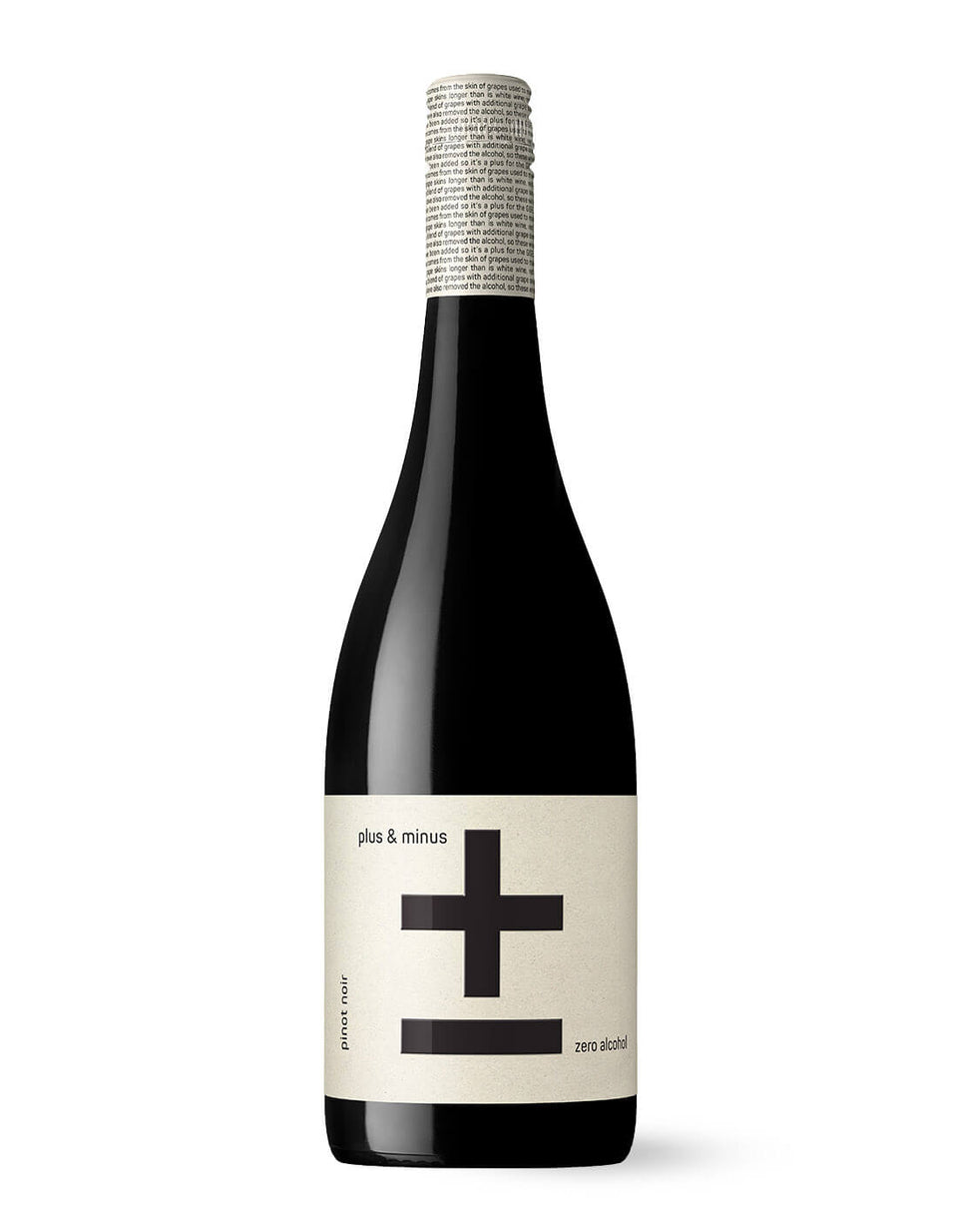 Plus and Minus PINOT NOIR 750mL | Craftzero