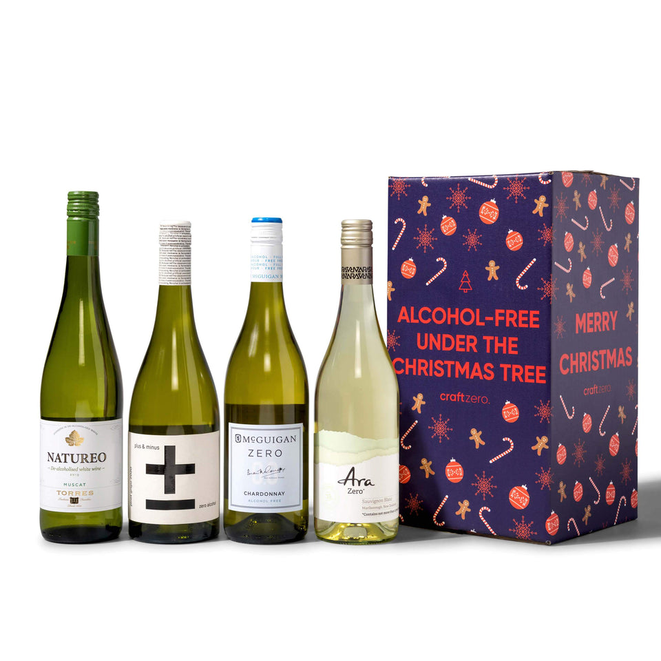White Christmas Wine Box - 4x750mL