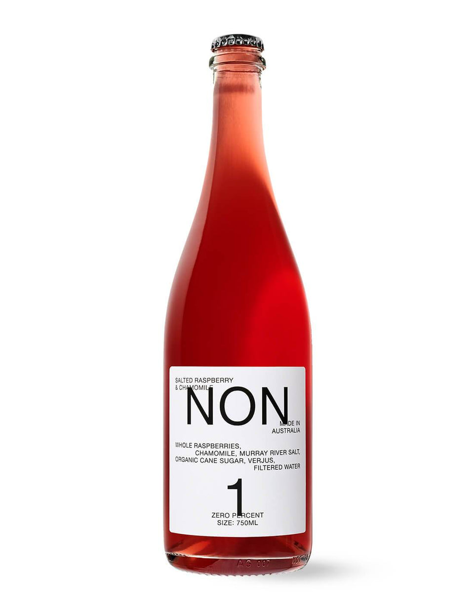 NON 1 Salted Raspberry & Chamomile 750mL | Craftzero