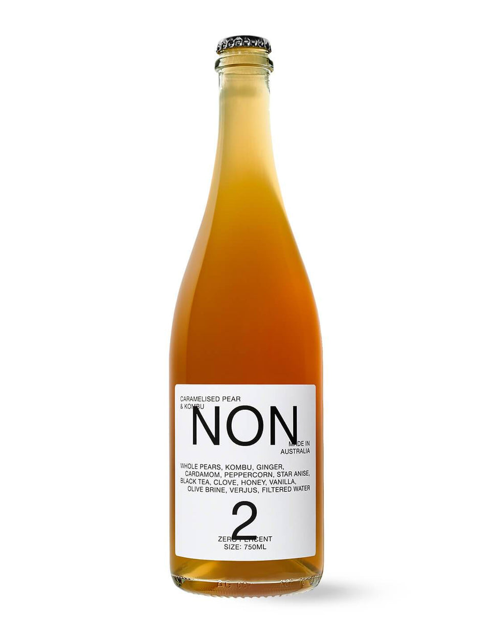 NON 2 Caramelised Pear & Kombu 750mL