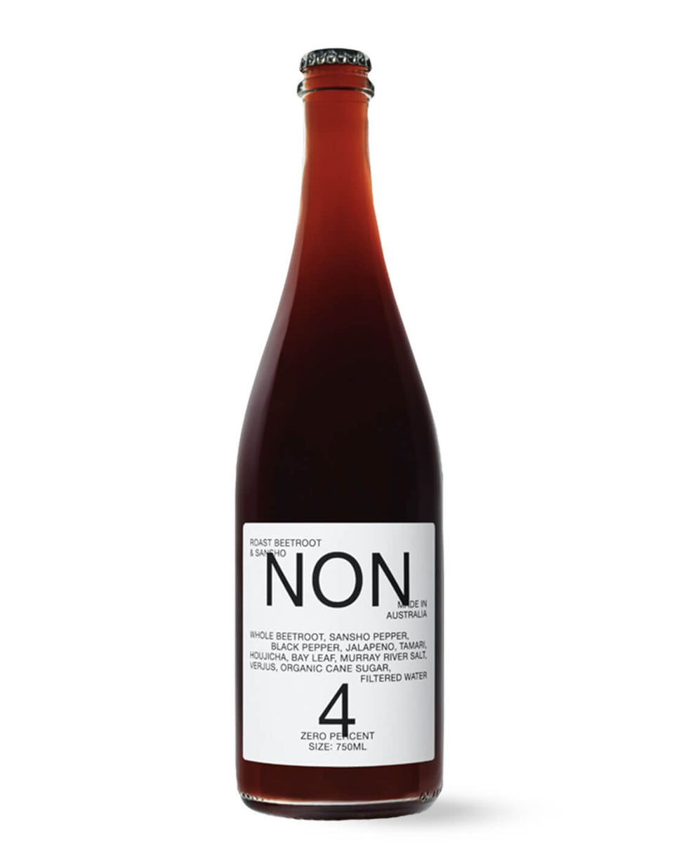NON 4 Roast Beetroot & Sansho 750mL | Craftzero