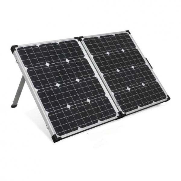 POWERTECH 12V 100W Folding Solar Panel with 5M Lead