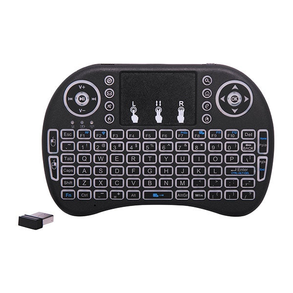 2.4GHz Wireless Media Centre Keyboard With Trackpad