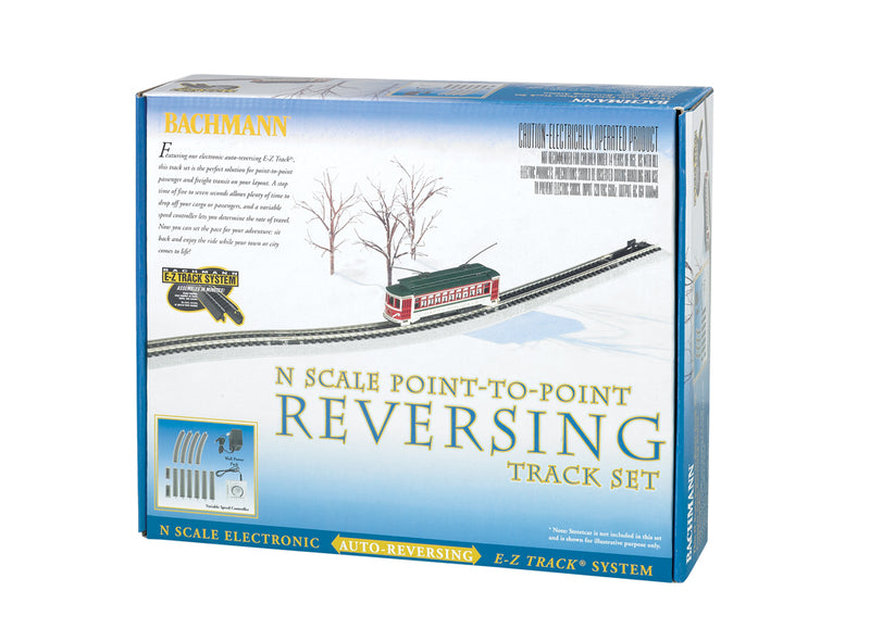 Bachmann N Scale Poimt to Point Reversing Track Set