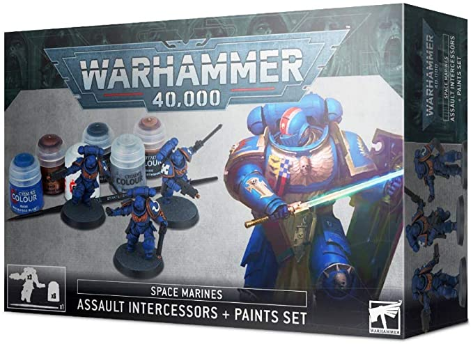 Warhammer 40K Intercessors + Paint Set