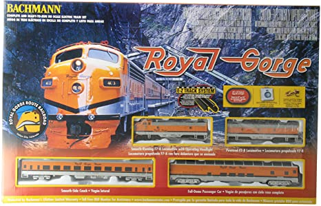 Bachmann - 00689 Royal Gorge Diesel Train Set - HO Scale