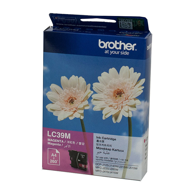 Brother LC39 Magenta Ink Cartridge