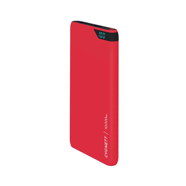 CYGNETT CY2504PBCHE Charge Up Boost 10k Power Bank - Red