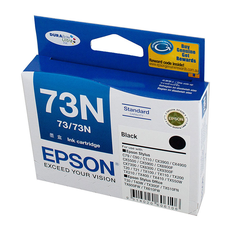 Epson 73 Black Ink Cartridge