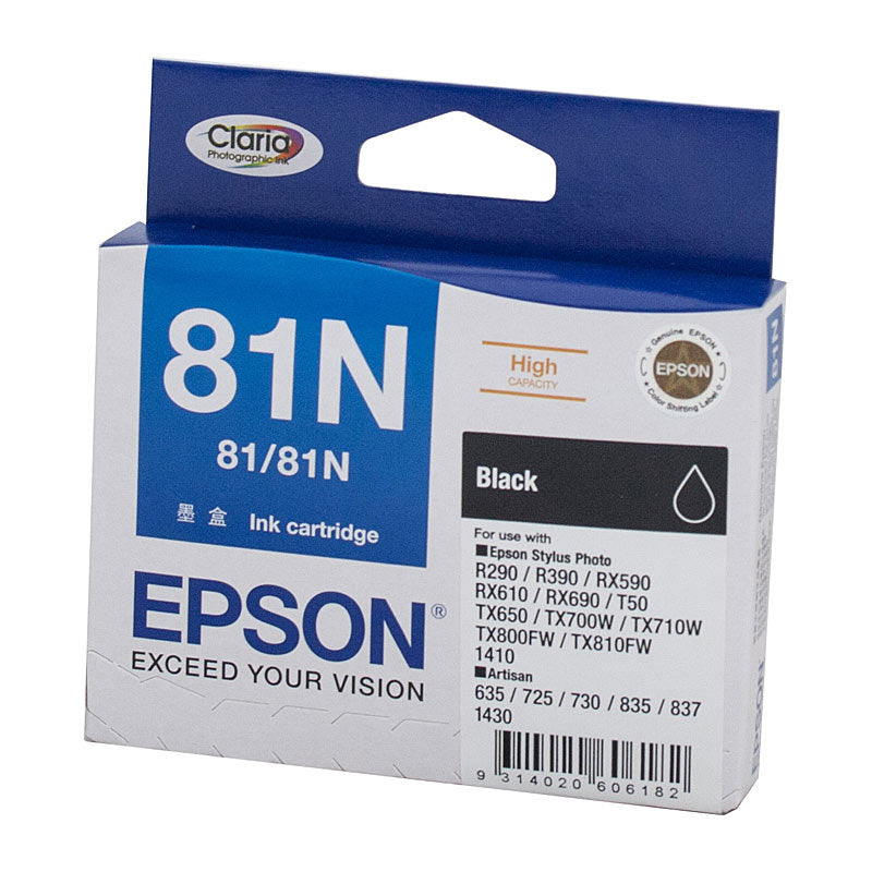 Epson 81 Black High Capacity Ink Cartridge