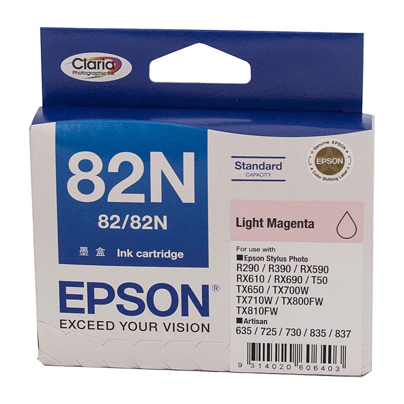 Epson 82 Light Magenta Ink Cartridge