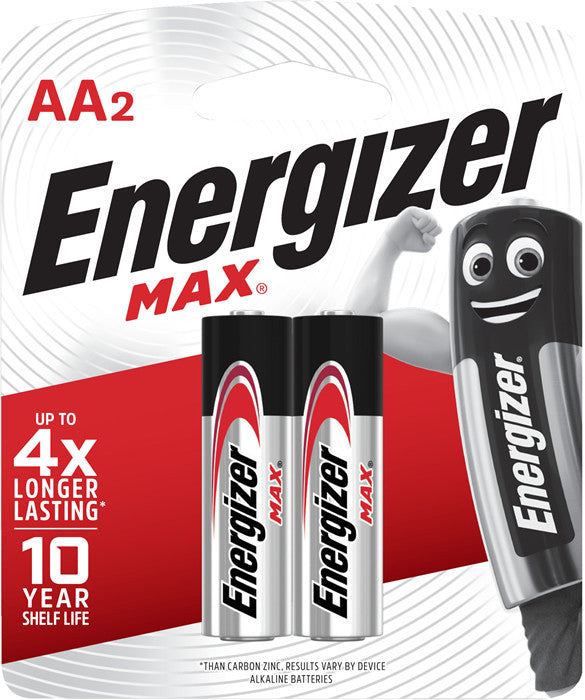 Energizer AA Battery Twin Pack