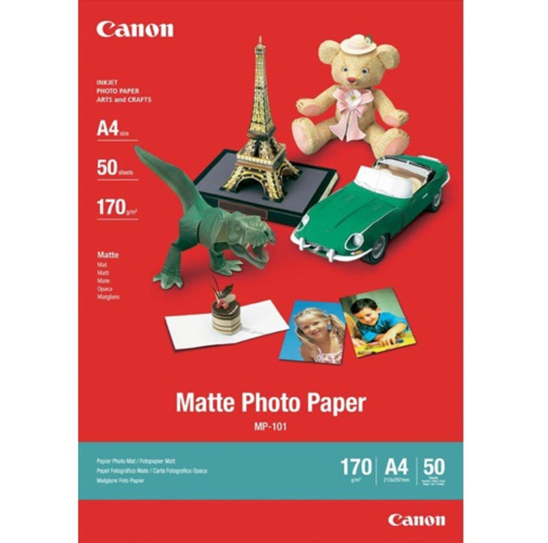 Canon Matt A4 50 Sheet Photo Paper