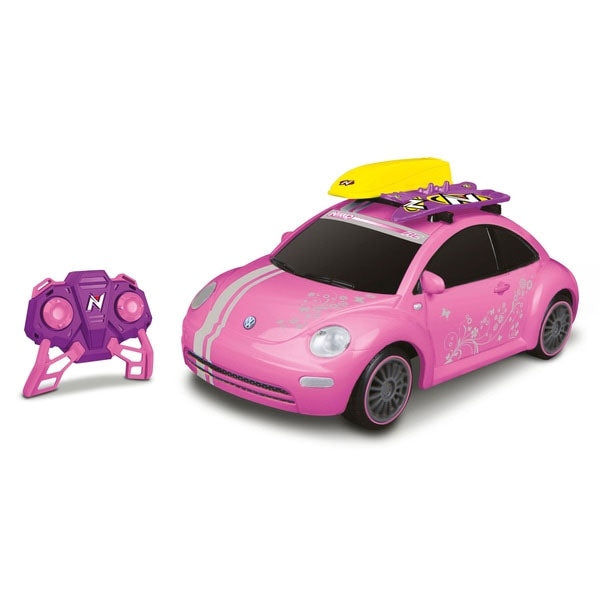 NIKKO 1:20 Pink VW Beetle RC Car