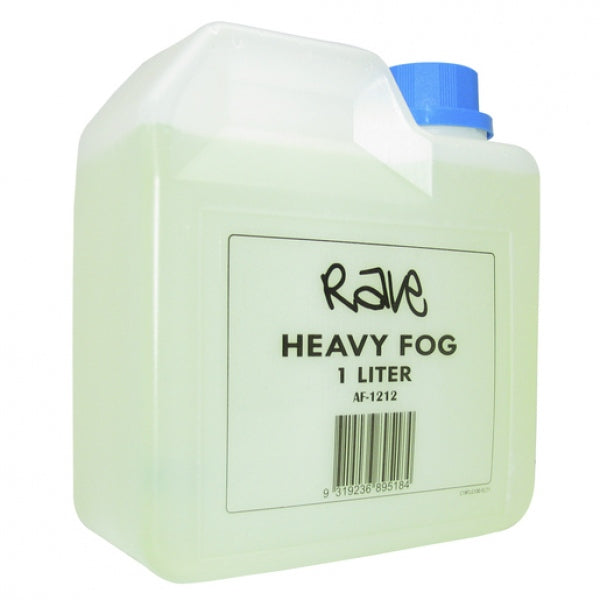 RAVE Water Based Fog Machine Liquid 1 Litre