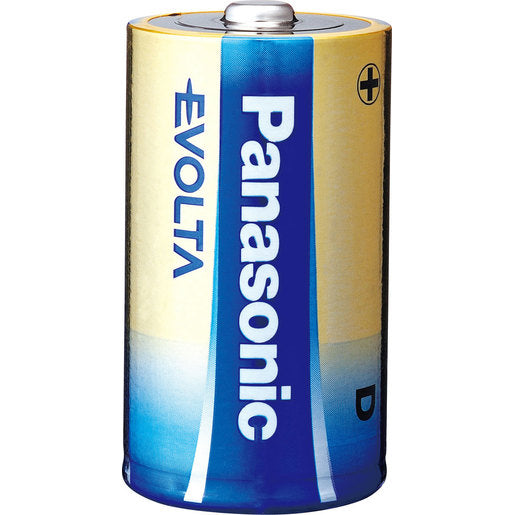 Panasonic Evolta D Batteries - 2 Pack