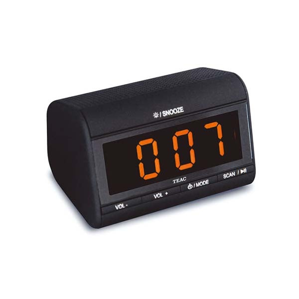TEAC Alarm Clock Radio with USB and Bluetooth