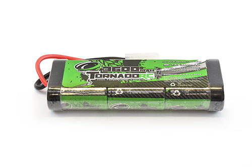 TORNADO RC 3600MAH 7.2V NIMH STICKPACK TAMIYA CONNECTOR