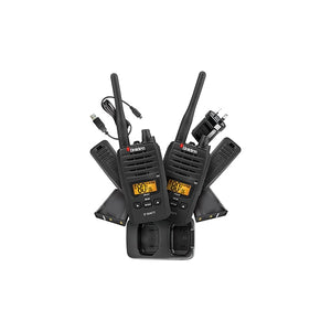 UNIDEN UH820-2 2W UHF Handheld Twin Pack