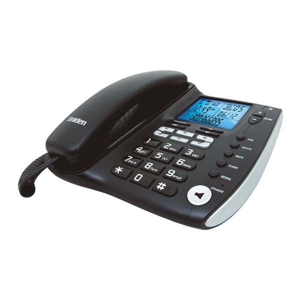 UNIDEN Corded Phone with Advanced LCD and Caller ID Display