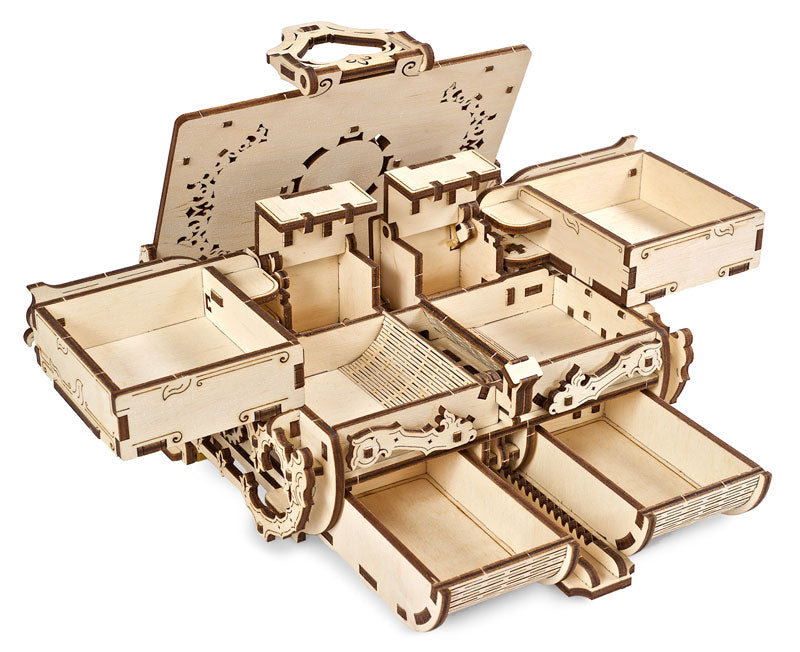 UGEARS Amber Box Mechanical Model
