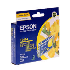 Epson T0493 Yellow Ink Cartridge