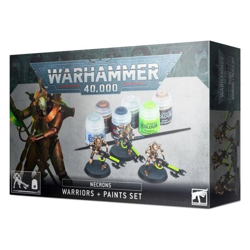 Warhammer 40K Necron Warriors + Paint Set
