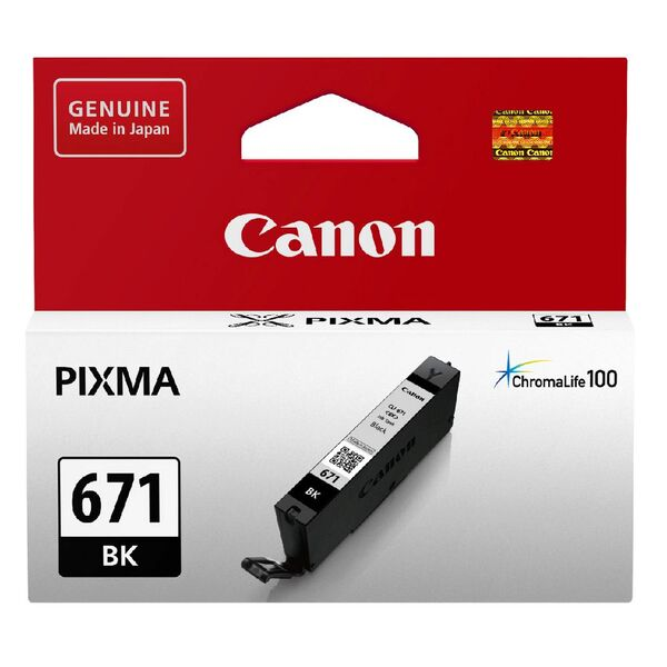 Canon 671 Black Ink Cartridge