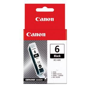 Canon 6 BLack Ink Caritridge