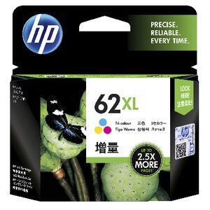 HP 62 colour XL Ink Cartridge