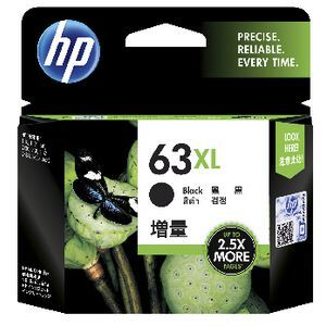 HP 63 XL Black Ink Cartridge