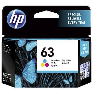HP 63 Colour Ink Cartridge