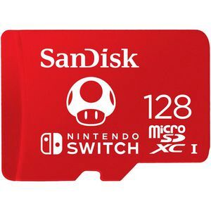 SanDisk Nintendo Switch micro SD Card 128GB