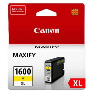 Canon 1600XL Yellow Ink Cartridge