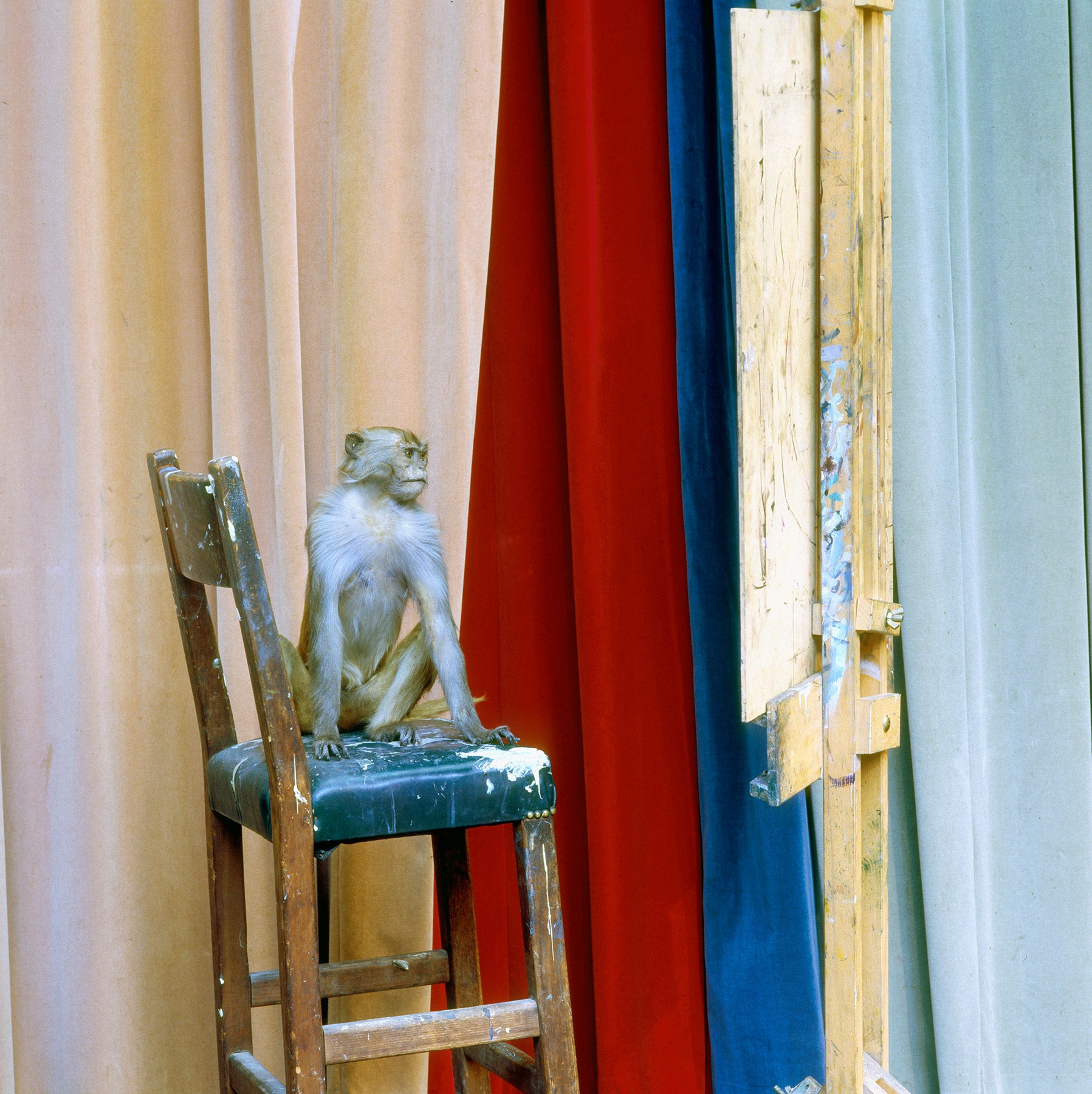 Painting after Nature/ Life Room/ Academies photographic print by Karen Knorr