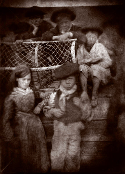 Hill & Adamson Newhaven Children photograph print