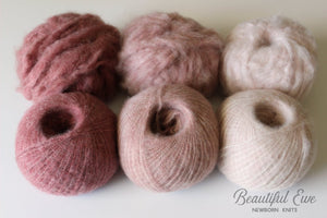 Preorder - Rose Cashmere Collection - Three Colors