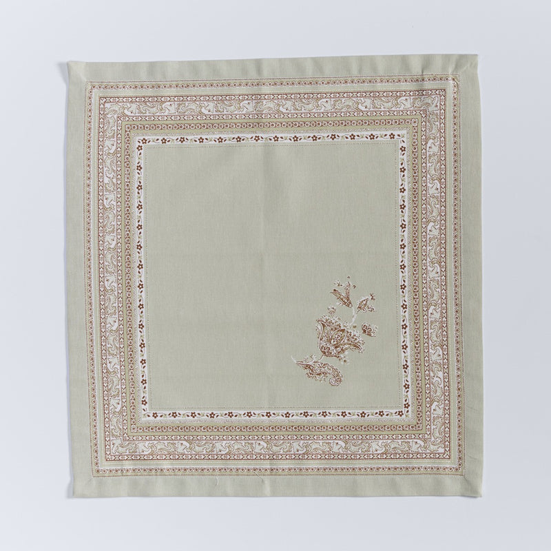 Ornamental Print Napkin - Set of 4