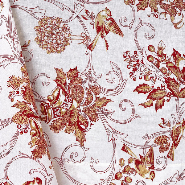 Holiday Toile Tablecloth