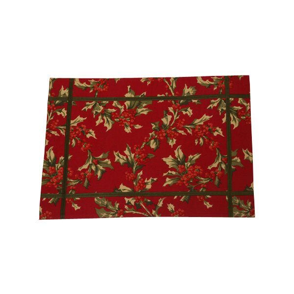 Winter Berry Placemats - Set of 4