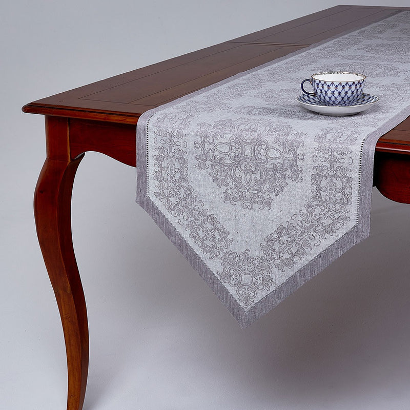 Damask Jacquard Runner