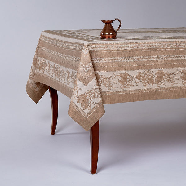 Harvest Basket Jacquard Tablecloth