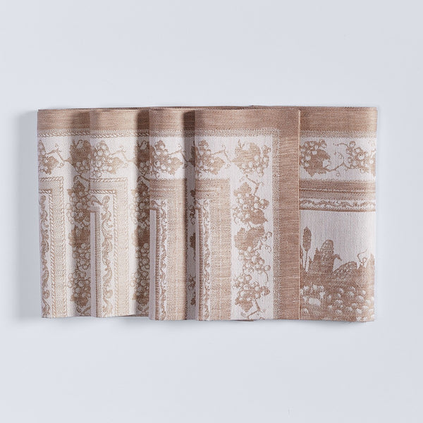 Harvest Basket Jacquard Napkins - Set of 4